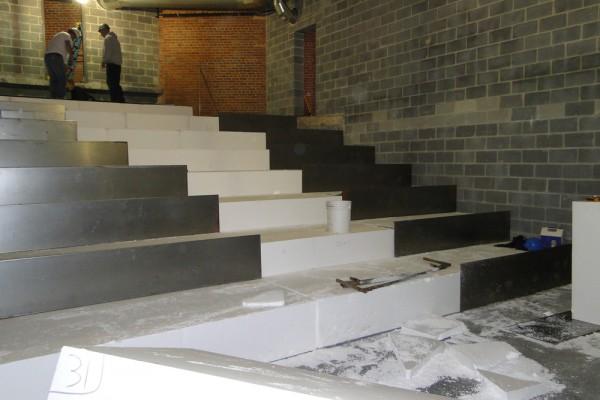 styro stairs